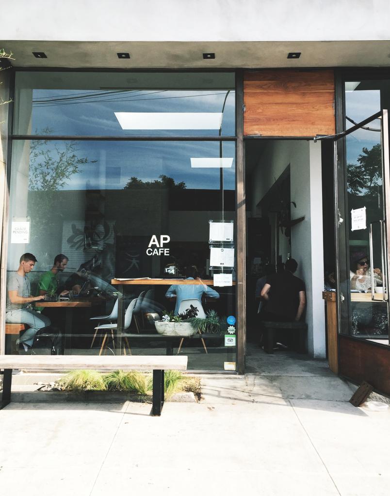 ap cafe facade