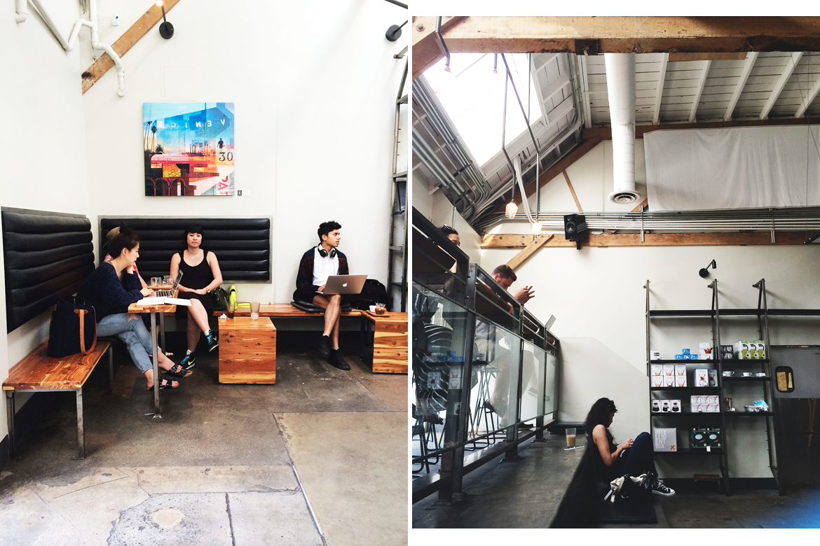intelligentsia abbot kinney, venice | modern industrial coffee shop design