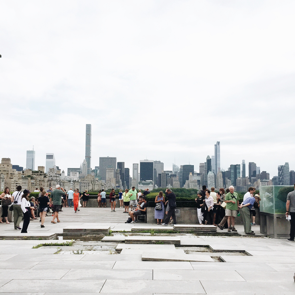 the metropolitan museum of art rooftop | central park views