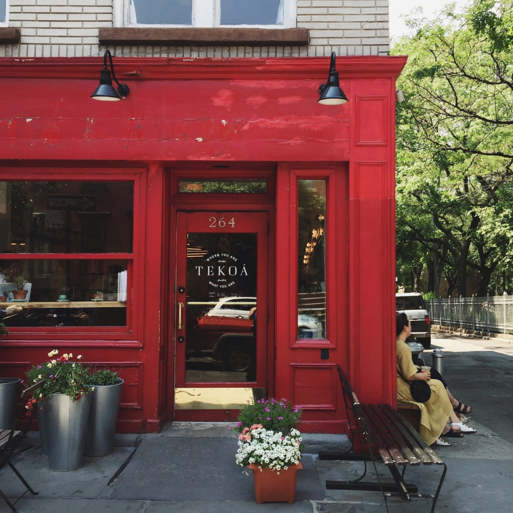 tekoa, a coffee shop in cobble hill, brooklyn