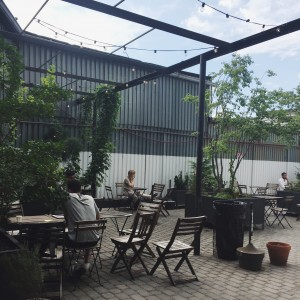 kave, bushwick, brooklyn - backyard space