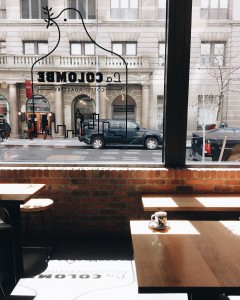 la colombe hudson square, nyc | near skylight clarkson NYFW