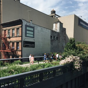 under line coffee - chelsea, right below the high line at 20th street